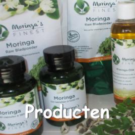 Producten Moringa Oleifera - Moringa's Finest