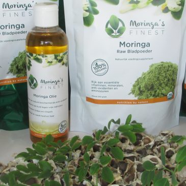 Website van Moringa's Finest in HTTPS