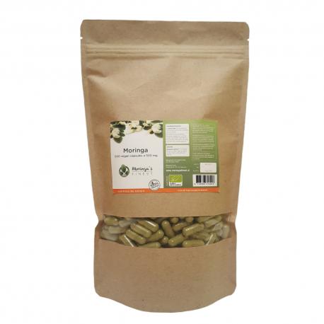 Organic Moringa Capsules - 500mg 500pcs