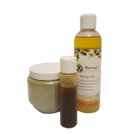 Moringa Oil 200ml + Neem oil & leaf powder