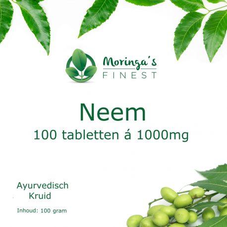 Neem Tabletten - productfoto